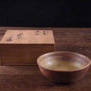 日本昭和时期陶制抹茶碗