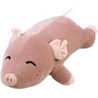 毛绒公仔娃娃送女生 搞怪猪抱枕公仔丑萌玩偶女生懒人布娃娃可爱毛绒玩具娃娃萌