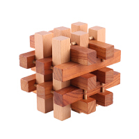 孔明锁十八根大号12CM儿童解压积木玩具鲁班锁