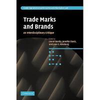 【预订】Trade Marks and Brands: An Interdisciplinary