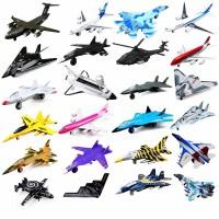 合金客机直升机模型声光回力飞机模型儿童玩具飞机