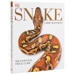 【中商原版】DK精装百科书籍 蛇类百科 英文原版 Snake:Essential Visual Guide Chris