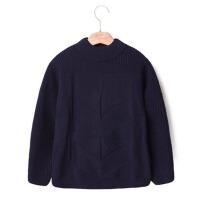童装男童毛衣套头秋冬款新款儿童冬季加绒加厚高领冬装针织衫