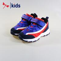 红蜻蜓童鞋男童小中童时尚撞色户外鞋