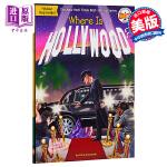 【中商原版】好莱坞在哪里? 英文原版 Where Is Hollywood? 儿童百科 电影 6-12岁