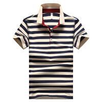 JSW 短袖POLO衫男士运动生活新款条纹休闲百搭时尚