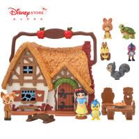 商店 白雪公主冰雪奇缘艾莎公主迷你小屋玩具礼盒套装儿童节礼物 白雪公主 迷你小屋