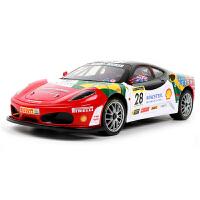 儿童礼物正版授权法拉利跑车遥控汽车电动儿童玩具无线遥控赛车男孩重力感应遥控模型车 1:12 法拉利F430-28号车