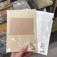MUJI无印良品信纸信封套装A5规格信纸12枚2号信封6枚一套