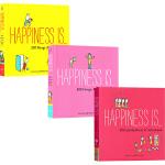 Happiness Is 幸福是.... 治愈系漫画绘本 英文原版 3本全套 200 Things I Love ab
