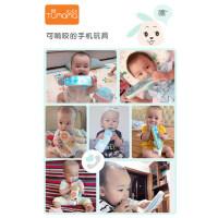 兔妈妈儿童手机玩具 宝宝婴儿遥控器益智可咬仿真电话女男孩0-1岁