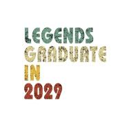 【预订】Legends graduate in 2029: Vintage Composition Notebook F