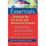 【预订】Essentials Of Statistics For The Social And