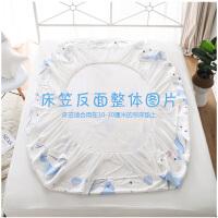 棉床罩床笠隔尿床单 婴儿隔尿垫大可洗透气大号