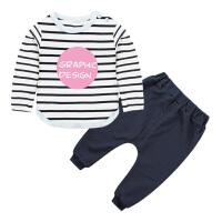 宝宝长袖套装春秋装女儿童哈伦裤男婴儿哈伦裤小孩子衣服