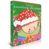圣诞绘本Karen Katz Counting Christmas 圣诞节庆绘本 英文原版进口纸板书 儿童读物 mer