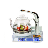 自动上水套装煮茶器烧水壶智能水晶玻璃养生壶电茶壶