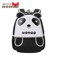 可爱幼儿园儿童书包男女宝宝小学生双肩包趣味熊猫背包潮