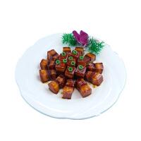 中餐食物展示道具 仿真红烧肉食品模型定制餐厅假菜拍摄样品