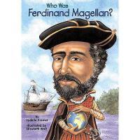 【现货】英文原版 Who Was Ferdinand Magellan? 斐迪南・麦哲伦是谁 名人传记 中小学生读物