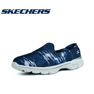 斯凯奇SKECHERS 正品女子一脚蹬舒适运动休闲健步鞋14053C
