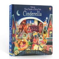 【全店300减100】英文原版绘本Peep Inside A Fairy Tale Cinderella启蒙早教儿童纸板