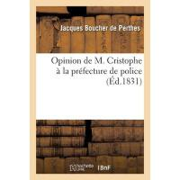 【预订】Opinion de M. Cristophe Ou M. Cristophe ? La Pr?fecture