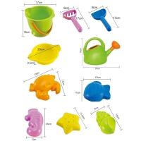 儿童挖沙工具玩沙子水壶小水桶宝宝大号沙滩玩具套装 戏水