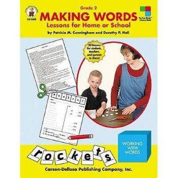 【预订】Making Words: Grade 2: Lessons for Home or School 美国库房发货,通常付款后3-5周到货!