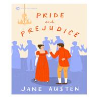 全英文原版Pride and Prejudice傲慢与偏见简奥斯汀原版正版名著文学小说书