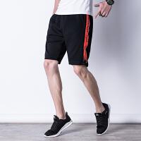 胖人夏季休闲短裤男士加肥大码运动五分裤夏天中裤子沙滩韩版潮流