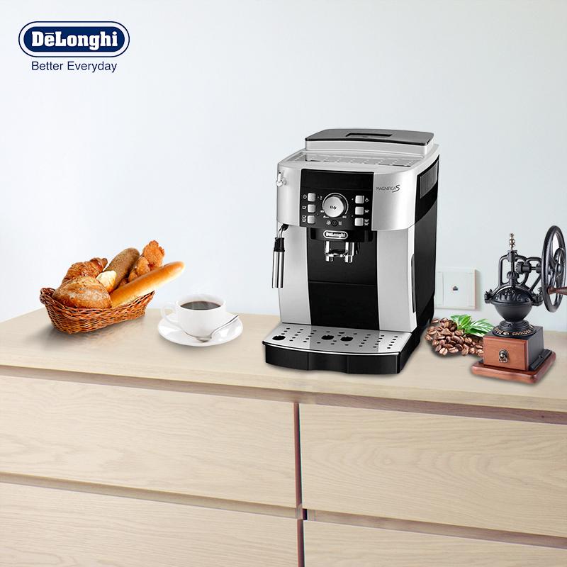 Delonghi/德龙 ECAM21.117.SB全自动咖啡机意式家用 现磨豆打奶泡 全自动咖啡机意式家用 现磨豆打奶泡