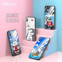 包�]支持�Y品卡 ROCK �O果iphone XS 手�C�� 玻璃 iPhoneXS MAX 保�o套 iphonexr 卡