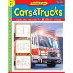 【预订】Cars & Trucks: Step by Step Instructions for 28