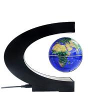高科技礼品创意礼物磁悬浮摆件办公桌生日创新永动送男生地球仪 3.5英寸星球蓝 底座发光