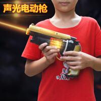 男孩狙击枪仿真*小孩室内声光震动冲锋枪儿童发射软弹步枪
