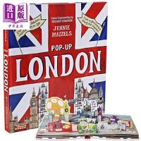 【中商原版】Pop-Up London Walker 英文原版 立体玩具书 0~3岁