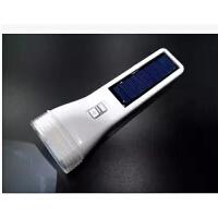 包邮雅格太阳能充电式LED手电筒 强光小手电筒家用高亮探照灯YG-3895