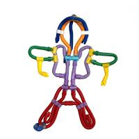 扭扭棒 儿童塑料拼插拼装桌面积木玩具3岁以上