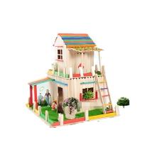 雪糕棒diy�和�手工制作模型房子材料包幼��@��意玩具