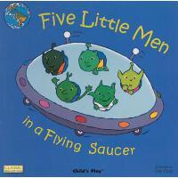 【预订】Five Little Men in a Flying Saucer