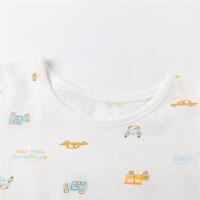 婴儿衣服 儿童背心内衣套装男童夏季睡衣套装