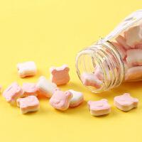 满300减215【百草味-萌C清口含片40g】口气清新薄荷糖果接吻糖香体喜糖