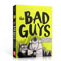 【全店300减100】英文原版 The Bad Guys in Mission Unpluckable 大坏蛋/砍人先生