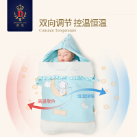 婴儿睡袋夏季儿童分腿睡袋防踢被纱布宝宝连体衣双拉链