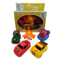搪胶玩具软胶摔不坏动物车子小汽车爬行洗澡戏水益智早教儿童玩具