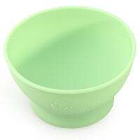 美国green sprouts小绿芽宝宝婴儿辅食硅胶碗吃饭训练碗儿童餐具