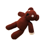 憨豆先生的泰迪熊 憨豆熊公仔憨豆先生泰迪熊毛绒玩具小熊玩偶小号的可爱抱枕萌娃娃 憨豆熊