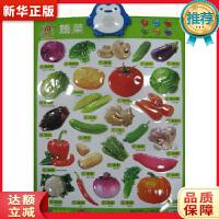 阳光宝贝 新版有声挂图 蔬菜 阳光宝贝品牌制作中心 湖南少年儿童出版社 9787556200429