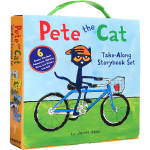 顺丰发货 英文原版绘本 Pete the Cat Take-Along 6 Book 皮特猫6本礼盒装 廖彩杏推荐书单